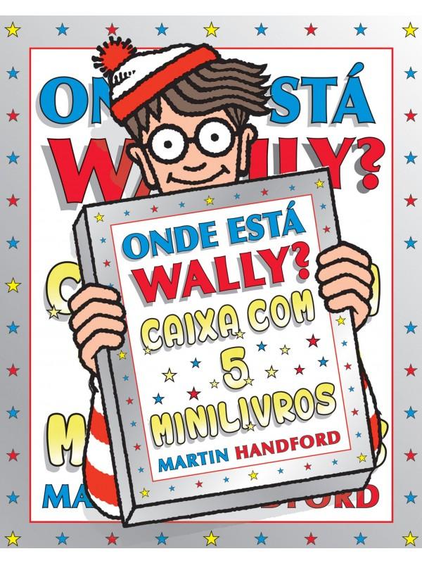 Onde está Wally? Caixa com 5 minilivros