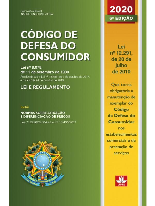 Código de Defesa do Consumidor - 2020