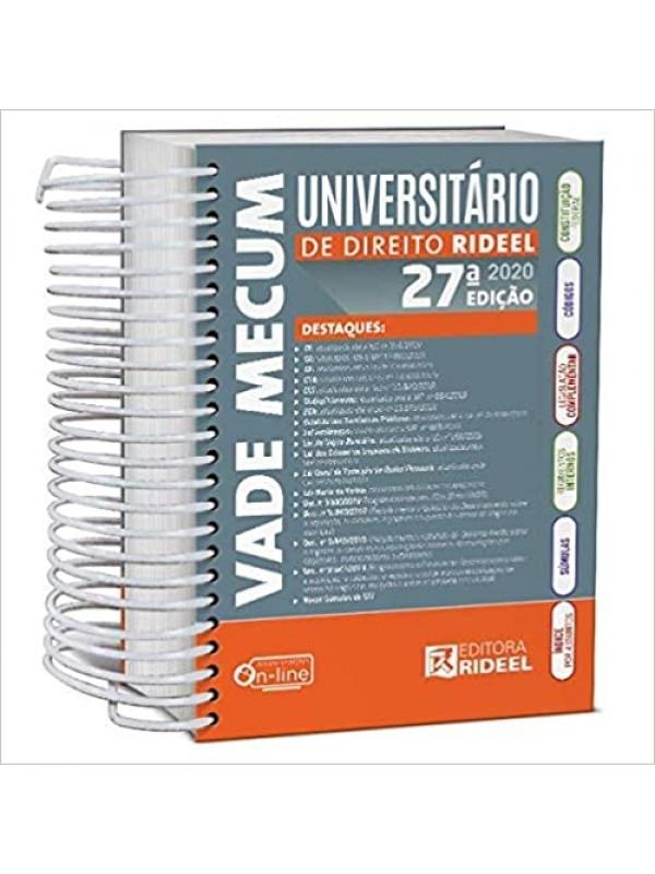 Vade Mecum Universitário de Direito Rideel 2020