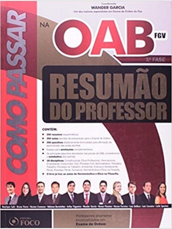 Como Passar na OAB 1ª Fase - Resumão do Professor